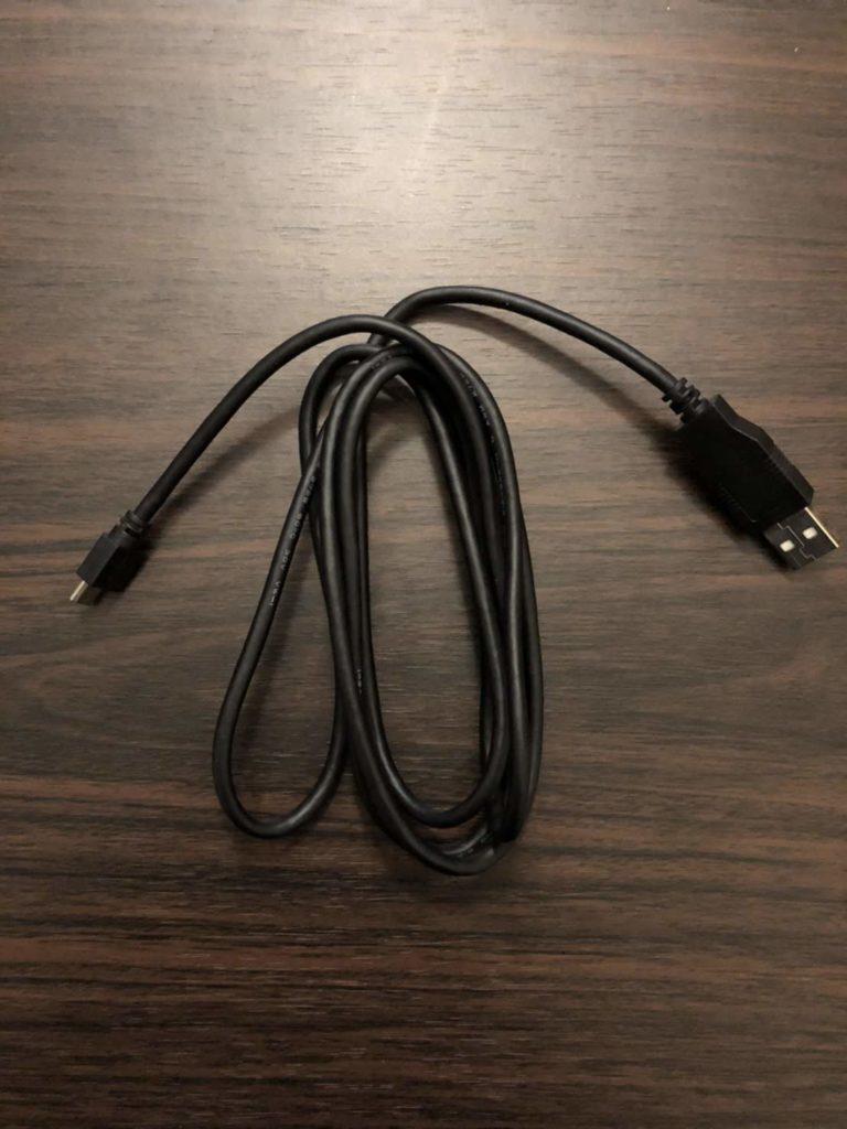 配信機材充電ケーブル